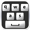 White Keyboard icon