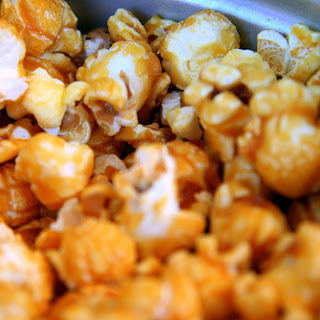 Homemade Gift of Chipotle Caramel Popcorn Crunch