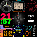 27 Watch faces for Wear & Sony icon