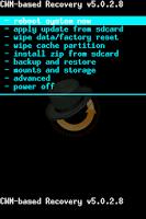 Screenshot of Oneclick Restart (Recovery)