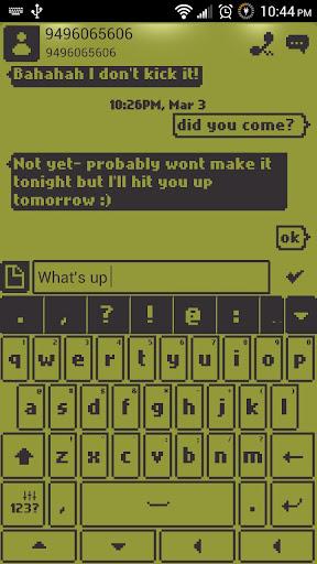 1998 Go Keyboard Theme