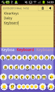 KlearKeys Daisy Keyboard screenshot 2