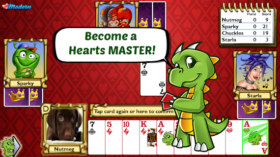 Championship Hearts Card Game- screenshot thumbnail