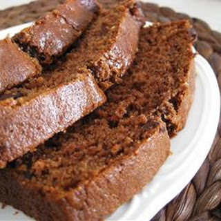 Chocolate Banana Bread.