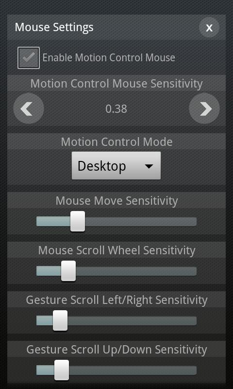 Remote Magic Mouse - screenshot