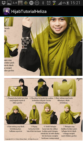 Hijab Tutorial by Heliza Helmi