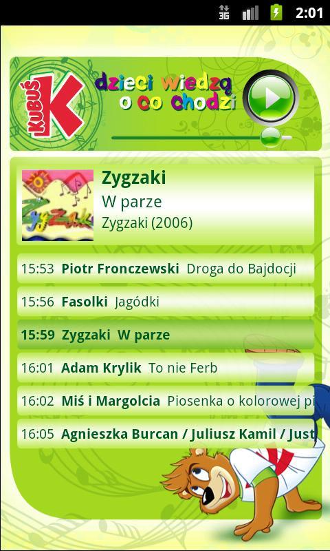 Radio KUBUŚ- screenshot
