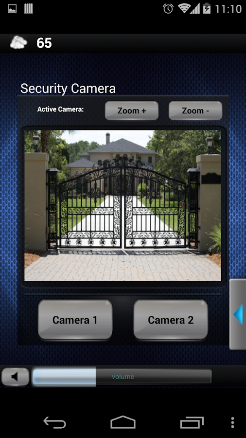 Crestron Mobile Pro- screenshot