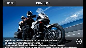 Screenshot of V-Strom 650 ABS