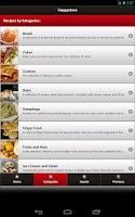 Screenshot of Happystove Recipes