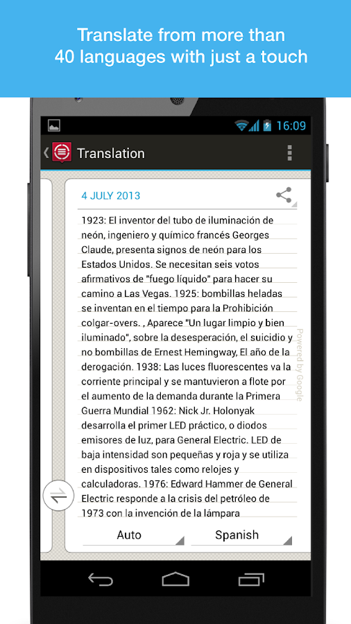 ABBYY TextGrabber + Translator - screenshot