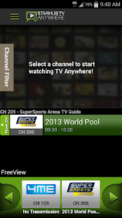 StarHub TV Anywhere - screenshot thumbnail