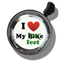 Walking Bicycle Bell logo