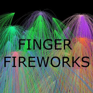 Finger Fireworks FREE for PC and MAC