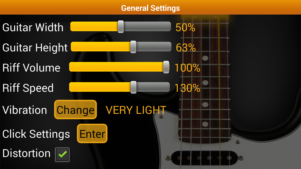 Guitar Scales & Chords Free - screenshot