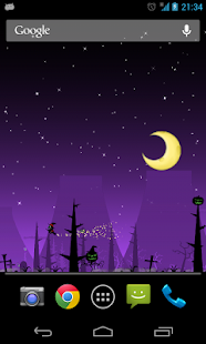 Halloween Live Wallpaper Bwch - screenshot thumbnail