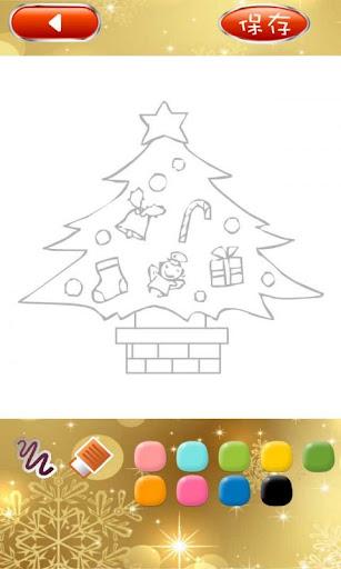 豆芝麻聖誕畫