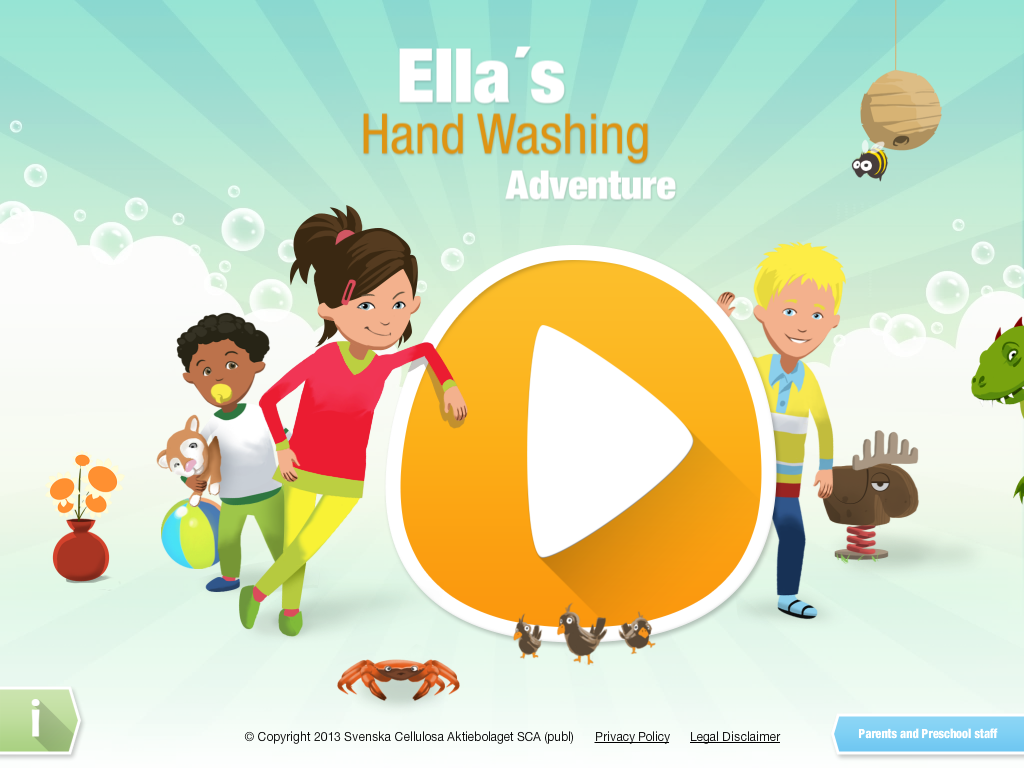 Ella's Hand washing Adventure - screenshot