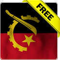 Angola flag Free livewallpaper icon
