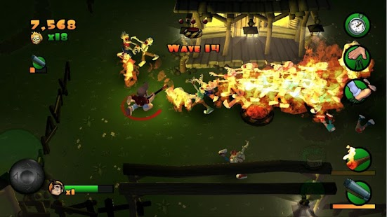 Burn Zombie Burn- screenshot thumbnail