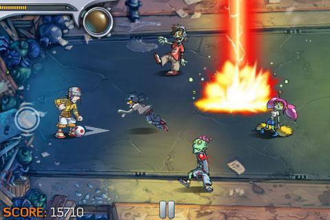 Pro Zombie Soccer screenshot #2