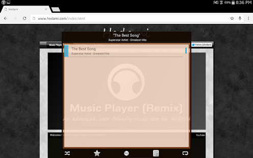 Music Player (Remix) Screenshot 11