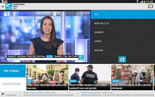 FRANCE 24 - screenshot thumbnail