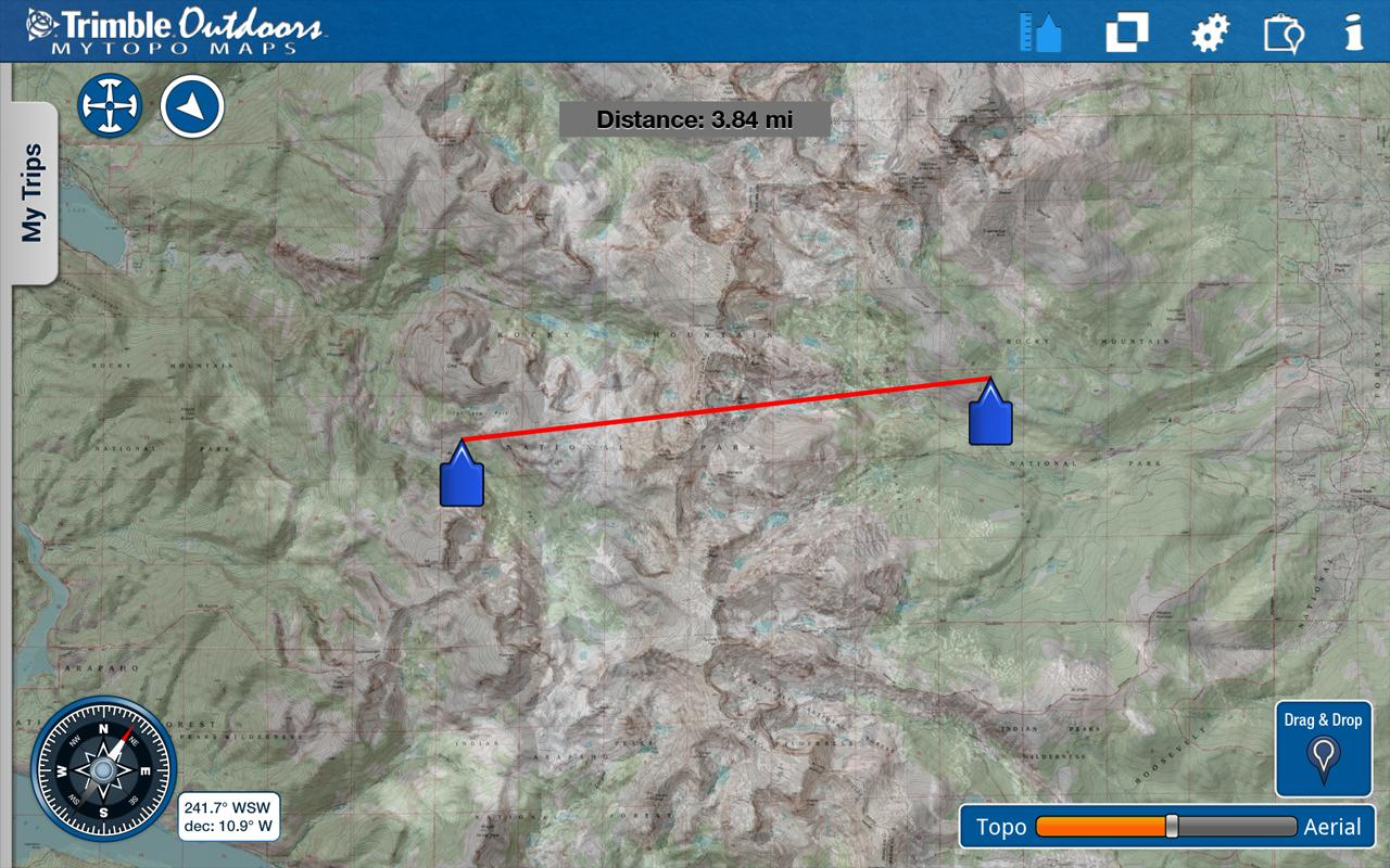MyTopo Maps - Trimble Outdoors- screenshot