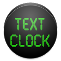 Text Clock icon