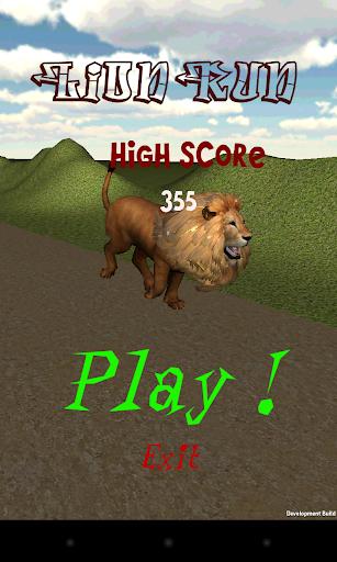 Animal Run - Lion
