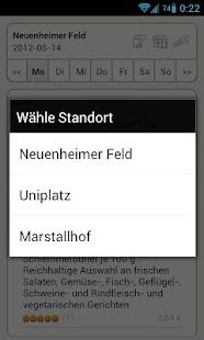 Mensa Heidelberg- screenshot thumbnail