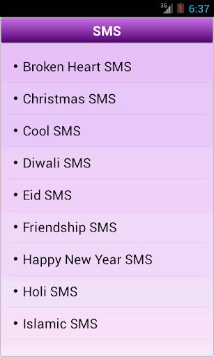 Hindi English SMS