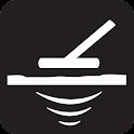 Metal Detector Minimalistic icon