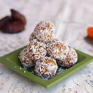 Low Carb Carrot Sno-Balls.