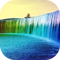 5D Rainbow Waterfall LWP icon