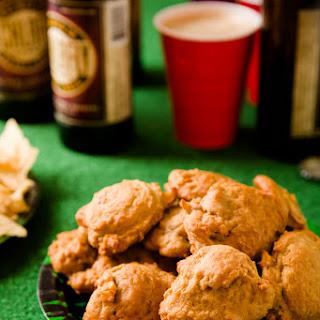 Beer Cheese Super Bowl Cookies