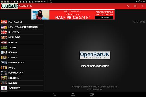 OpenSatUK Live