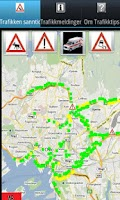 Screenshot of TrafikkTips