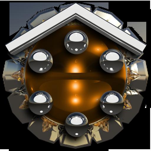 Smart Launcher theme Bernstein
