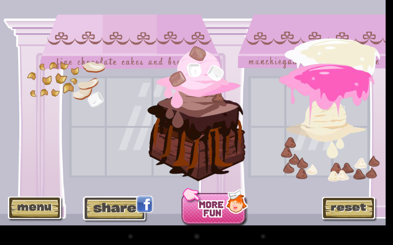 Fudge Brownie Dressup - screenshot