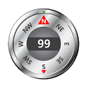 Steel Compass & GPS Full HD icon