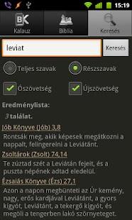 BibOlKa - Új fordítású Biblia - screenshot thumbnail