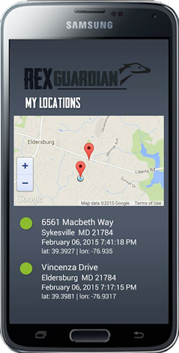 REX GPS Check In