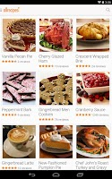 Screenshot of Allrecipes Dinner Spinner