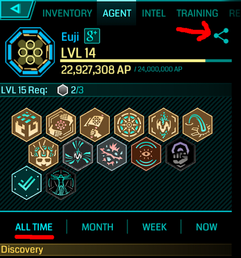 Ingress stats