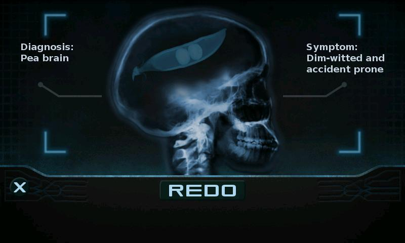 Brain Xray Scanner - screenshot