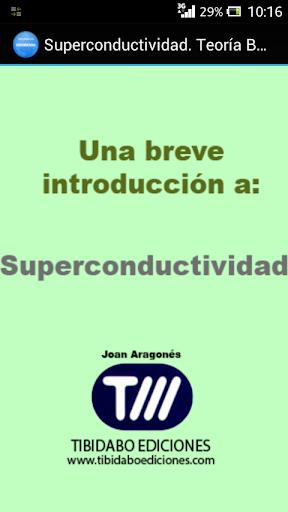 Superconductividad. Teoría BCS
