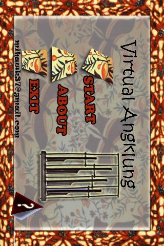 Virtual Angklung - screenshot