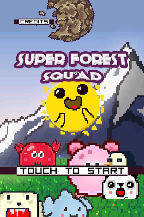 Super Forest Squad - screenshot
