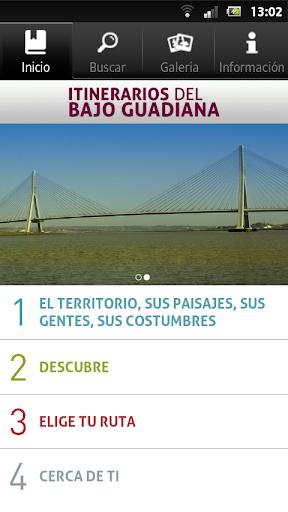 Guía Itinerarios Bajo Guadiana